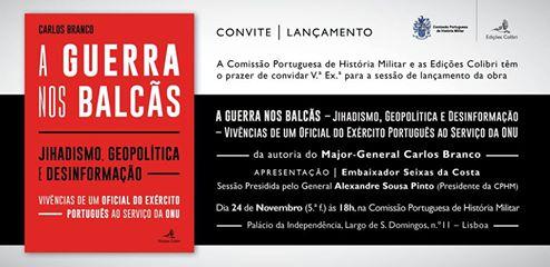 24 Novembro, 18:00, Comissão Portuguesa de HistóriaMilitar
